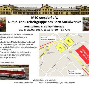 Ausstellung & Selbstfahrtage 2017