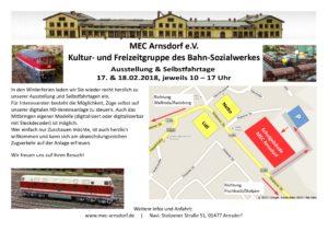 MEC Arnsdorf - Ausstellung und Selbstfahrtage 2018