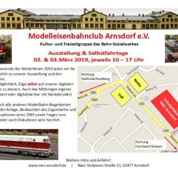 Ausstellung & Selbstfahrtage 22./23. 02. 2020