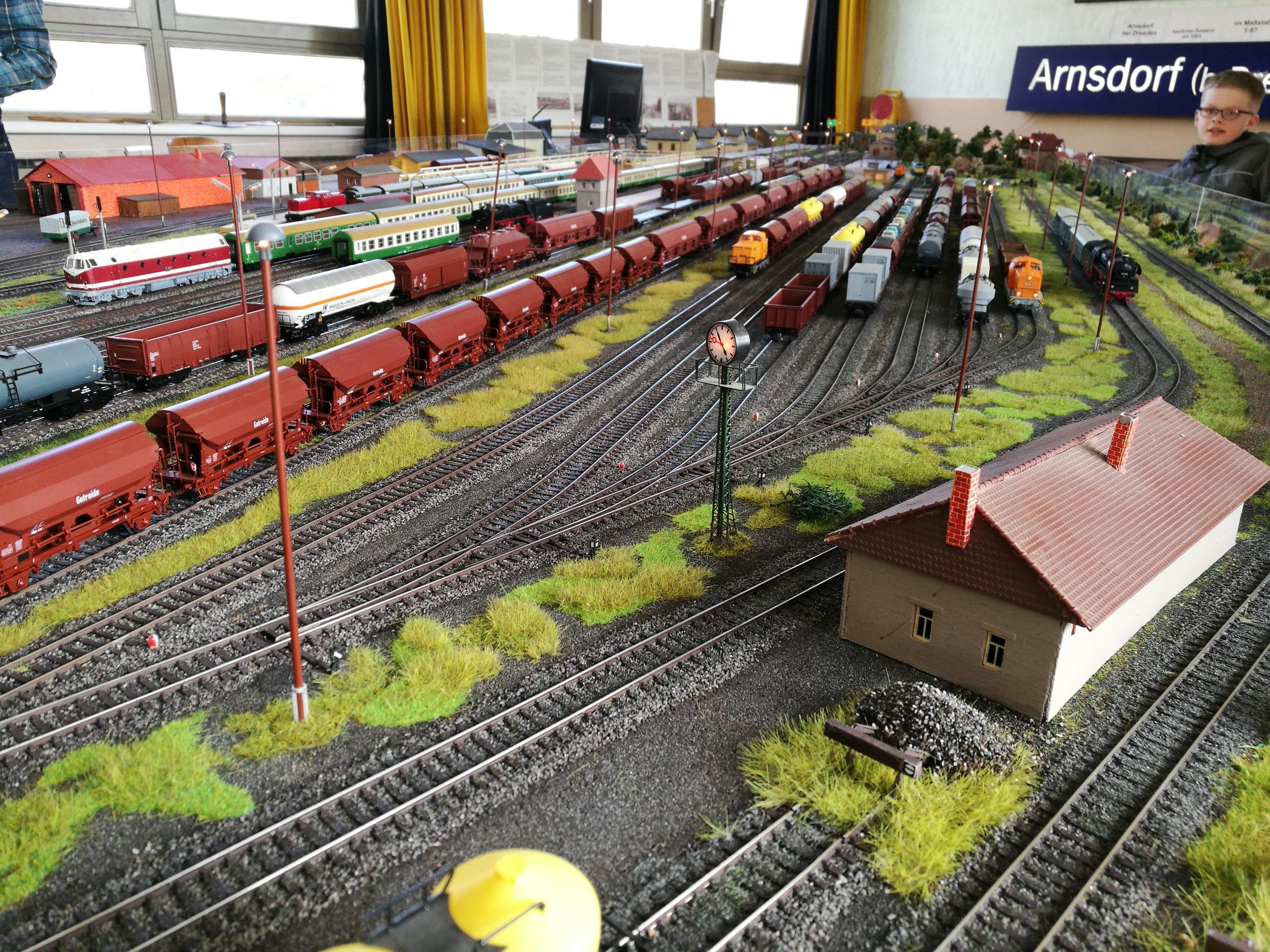 Hauptanlage Bahnhof Arnsdorf